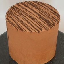 Malt Pinata Filled With Maltesers And Creamy Malt Frosting, Covered In Couverture Chocolate Frosting