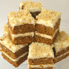 Spicy Carrot Traybake With Cream Cheese Frosting