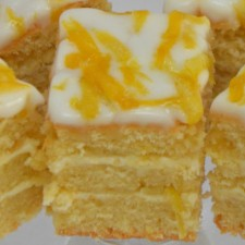 Lemon Zest Traybake With Creamy Lemon Frosting And Lemon Zest Icing